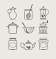 Tableware set icon vector | Price: 1 Credit (USD $1)