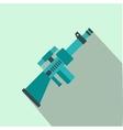 Toy gun flat icon vector image