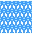 abstract geometric blue and white pattern vector image