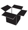 box black icon vector image vector image