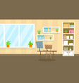 doctor examination office flat vector image vector image