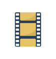 filmstrip icon element for design vector image