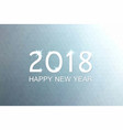 happy new 2018 year background christmas banner vector image