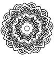 Mandala Hand drawn ethnic decorative element vector image vector image
