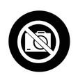 no photo icon design vector image