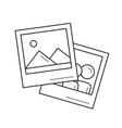 picture line icon vector image