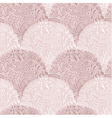 Pink floral scales seamless pattern vector image vector image