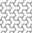 Slim gray tetrapods with striped bevel vector image vector image