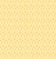 yellow seamless paisley vector image vector image