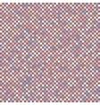 Chess board mosaic squares distortion vector image vector image