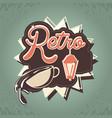 coffee shop retro store styhle vector image