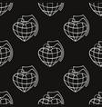 colorful pop art grenades vector image vector image