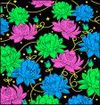 floral print design vector image vector image