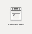 House Appliances Logo vector image