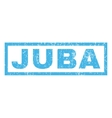 Juba Rubber Stamp vector image vector image