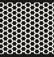 monochrome seamless black white stars pattern vector image