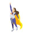 super mum icon vector image