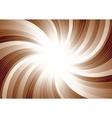 vector swirl background vector image vector image