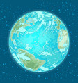 earth planet weather nature and environment vector image