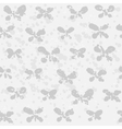 Abstract butterfly on spotted backgroud vector image