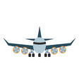 airplane aircraft vector image vector image