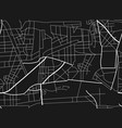 city map scheme roads vector image vector image