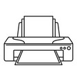 jet printer icon outline style vector image
