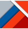 Modern material design background vector image