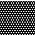 monochrome seamless pattern simple hexagonal vector image vector image