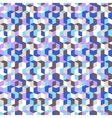 Pattern with cubes in random colors vector image vector image