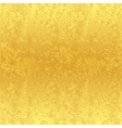 Seamless golden background vector image vector image