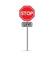 stop war signs vector image vector image