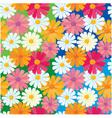 textures daisy flowers vector image