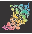 Abstract Tropical Ornament vector image