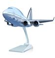 Cartoon airliner