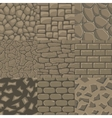 Cartoon stone wall seamless texture