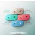 Modern Infographics Process Template vector image vector image