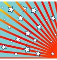 stripes and stars background vector image