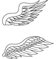 wings pack vector image vector image