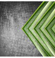 Abstract tech grunge background vector image vector image