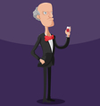 Boss Worker Scary Cartoon Character vector image vector image