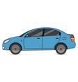 car automobile transport in flat style vector image vector image