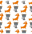 cats dogs cute animal funny vector image vector image