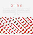 christmas concept with funny santa claus vector image vector image
