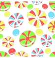 Colorful pattern with abstract candies vector image