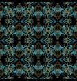 damask vintage seamless pattern ornate vector image vector image