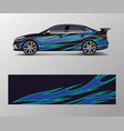 modern racing car wrap strip for racing sport car