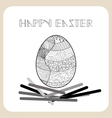 spring and easter for design vector image vector image