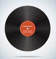 Vinyl disk realistic design eps 10 vector image vector image