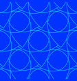 abstract seamless pattern on the blue background vector image vector image